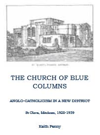 The Church of Blue Columns