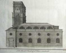 St Olave's Church in Tooley Street